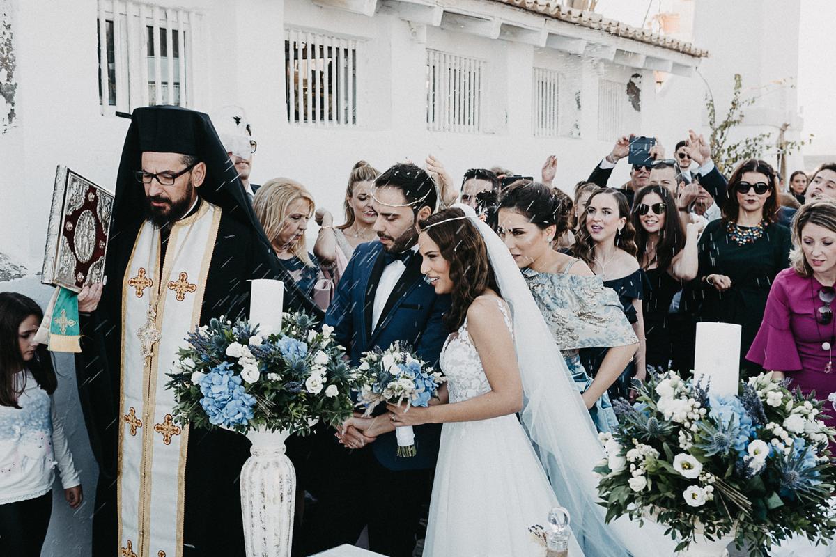 Autumn wedding video with sea view | Vagia & Alexandros